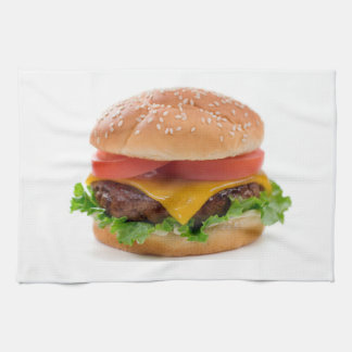 """Deluxe Hamburger"" design kitchen towels"