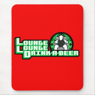 Deluxe Lounge Lounge Drink a beer Mouse Pad