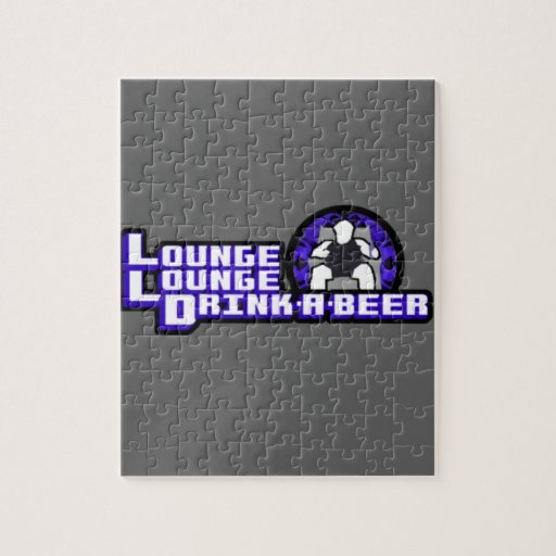 Deluxe Lounge Lounge Drink a beer Jigsaw Puzzle
