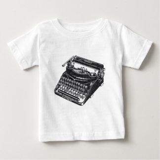 Deluxe Noiseless Typewriter Baby T-Shirt