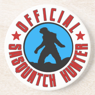 Deluxe Official Sasquatch Hunter Drink Coaster