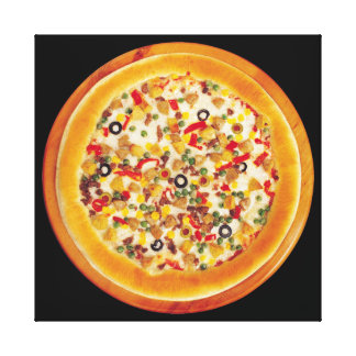 Deluxe Pizza Canvas Print