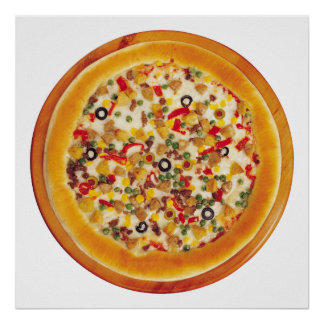 Deluxe Pizza Poster