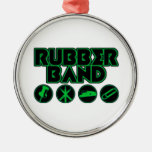 Deluxe Rubber Band Parody Logo Ornaments