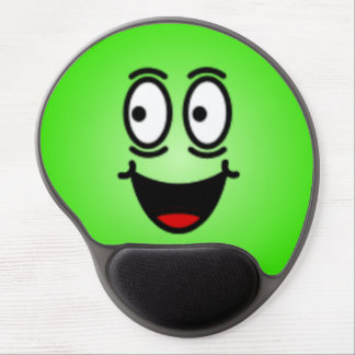 Deluxe Silly Smiley Face Gel Mousepad
