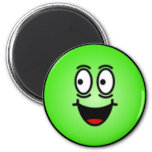 Deluxe Silly Smiley faces Fridge Magnet