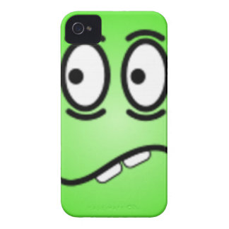 Deluxe Silly Smiley faces iPhone 4 Case