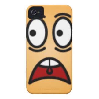 Deluxe Silly Smiley faces iPhone 4 Case-Mate Case