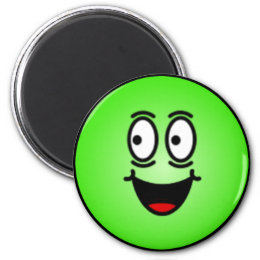 Deluxe Silly Smiley faces Magnet