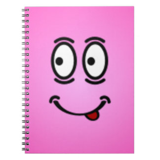 Deluxe Silly Smiley faces Note Book