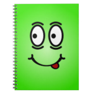 Deluxe Silly Smiley faces Note Books