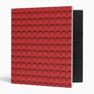 Deluxe Toy Brick Contruction Texture 3 Ring Binder