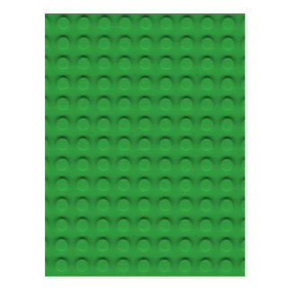 Deluxe Toy Brick Contruction Texture Postcard