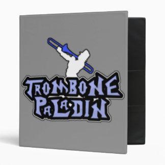 Deluxe Trombone Paladin Logo Binders