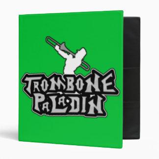 Deluxe Trombone Paladin Logo 3 Ring Binders