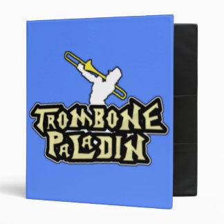 Deluxe Trombone Paladin Logo Vinyl Binders