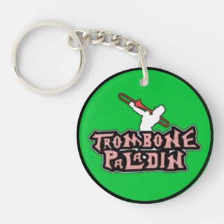 Deluxe Trombone Paladin Logo Keychain