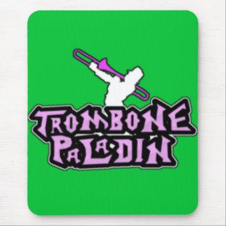 Deluxe Trombone Paladin Logo Mouse Pad