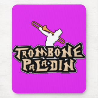 Deluxe Trombone Paladin Logo Mouse Pad