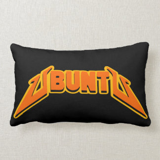 Deluxe Ubuntu Rock Parody Logo Pillows