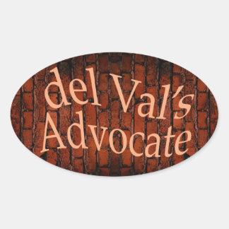 delValsAdvocate Sticker