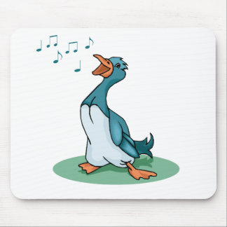 Delvin Duck Mouse Pad