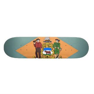 Delware Flag Skateboard Deck