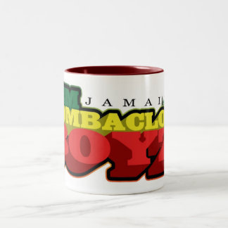 DEM BOMBACLOT BOYZ Two-Tone COFFEE MUG