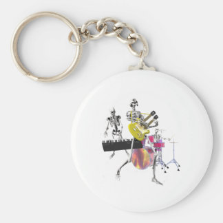 Dem Bones Band Keychain