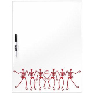 dem bones dancin' Skeleton Dry-Erase Board