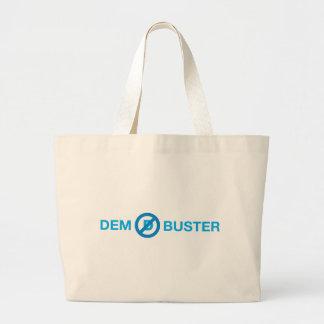 Dem Buster Large Tote Bag