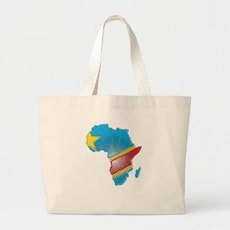 Dem. Rep. Congo Large Tote Bag