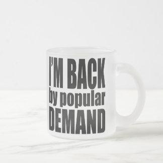 Demand1 Frosted Glass Coffee Mug