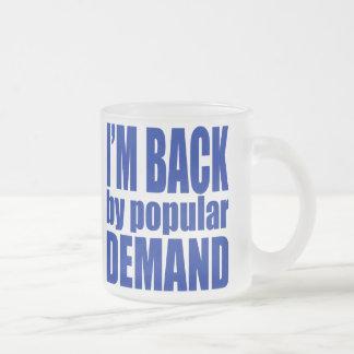 Demand5 Frosted Glass Coffee Mug