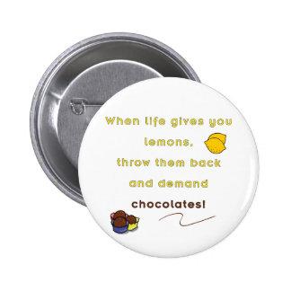 Demand Chocolate Pins