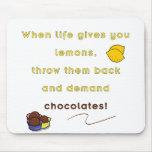 Demand Chocolate Mouse Pad