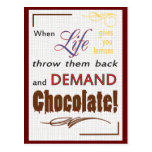 Demand Chocolate Postcards