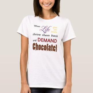 Demand Chocolate T-Shirt