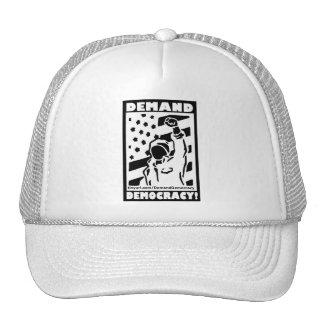 Demand Democracy Trucker Hat