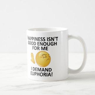 Demand Euphoria Funny Mug or Travel Mug