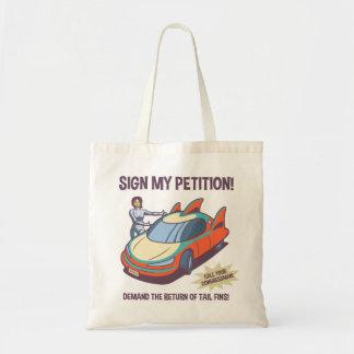 Demand Fins! Tote Bag