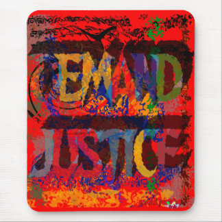 Demand Justice Mousepad