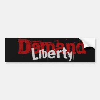 Demand Liberty Bumper Sticker