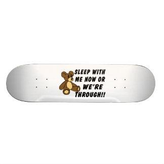 Demanda del oso de peluche patinetas personalizadas