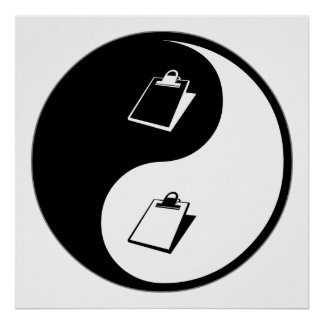Demandas de Yin Yang Impresiones