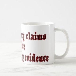 Demandas extraordinarias taza clásica