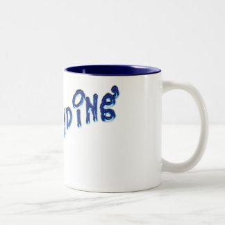 demanding coffee mug