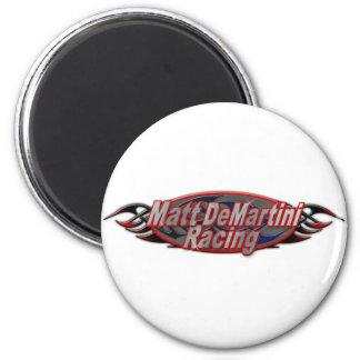 Demar_Racing 2 Inch Round Magnet