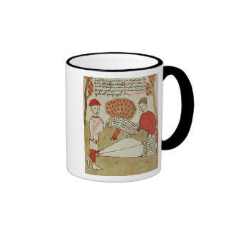 Demarcation of land, from 'Traite d'Arpentage' Ringer Coffee Mug