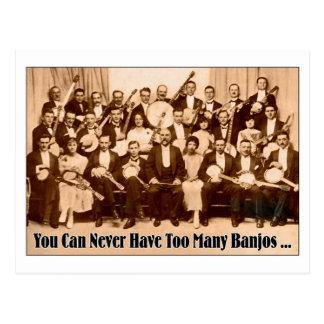 Demasiada postal de los banjos